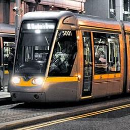 Dublin Tram Service Website defaced.